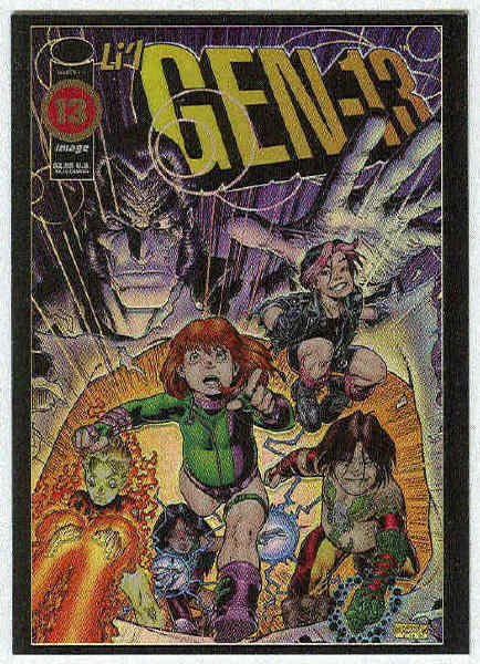 Wildstorm Archives 1995 #G1 Gen 13 Holo Foil Card