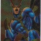 X-Men 1995 Chromium Promo Trading Card Cyclops