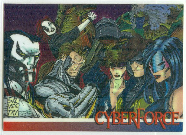 Wizard Series 3 Promo #4 Cyber Force