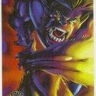 X-Men 1995 Alternate X #1 Beast Embossed Chase Card
