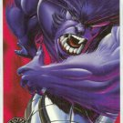 X-Men 1995 Alternate X #2 Alter Beast Embossed Chase Card