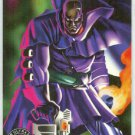 X-Men 1995 Alternate X #4 Bishop Embossed Chase Card