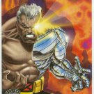 X-Men 1995 Alternate X #5 Cable Embossed Chase Card