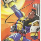 X-Men 1995 Alternate X #9 Forge Embossed Chase Card