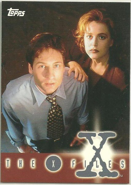 X-Files Season 1 1995 #0 Promo Card