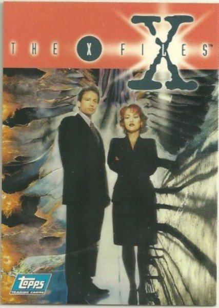 X-Files Season 1 1995 #P6 Promo Card