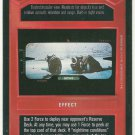 Star Wars CCG Macroscan Premiere DS Game Card Unplayed