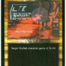 Terminator CCG Targeting System Failure Precedence Game Card Unplayed
