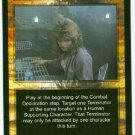 Terminator CCG Up Close And Personal Precedence Game Card Unplayed