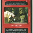 Star Wars CCG Local Trouble Premiere Limited DS Rare Card Unplayed