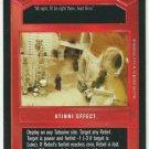 Star Wars CCG Luke Luuuuke Uncommon DS Limited Game Card Unplayed