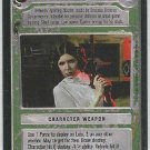 Star Wars CCG Leia's Sporting Blaster Uncommon LS Game Card Unplayed