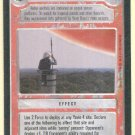 Star Wars CCG Yavin Sentry Uncommon LS Limited Game Card Unplayed