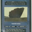 Star Wars CCG Sandcrawler Rare DS Limited Game Card Unplayed