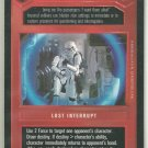 Star Wars CCG Set For Stun DS Premiere Limited Game Card Unplayed