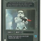 Star Wars CCG Stormtrooper DS Limited Game Card Unplayed