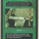 Star Wars CCG Stormtrooper Utility Belt DS Limited Game Card Unplayed