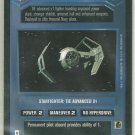 Star Wars CCG TIE Advanced x1 Uncommon DS Game Card Unplayed