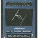 Star Wars CCG TIE Fighter DS Premiere Limited Game Card Unplayed