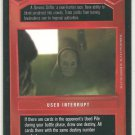 Star Wars CCG Trinto Duaba Uncommon DS Limited Game Card Unplayed