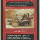 Star Wars CCG Tusken Scavengers DS Limited Game Card Unplayed