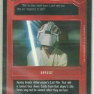 Star Wars CCG Your Eyes Can Deceive You Uncommon DS Card Unplayed