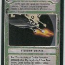 Star Wars CCG Quad Laser Cannon Uncommon LS Game Card Unplayed