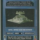 Star Wars CCG Imperial-Class Star Destoyer Uncommon DS Card Unplayed