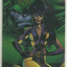 WildC.A.T.s 1994 #D2 Double Sided Chromium Chase Card