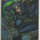 WildC.A.T.s 1994 #D4 Double Sided Chromium Chase Card