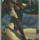 WildC.A.T.s 1994 #D6 Double Sided Chromium Chase Card