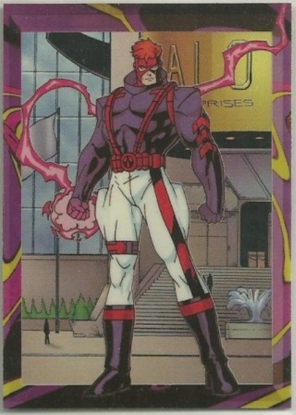 WildC.A.T.s 1995 #CEL-1 Chase Card Spartan