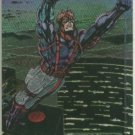 WildC.A.T.s 1995 #FE-1 Foil Etched Chase Card Spartan