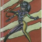 WildC.A.T.s 1995 #FE-4 Foil Etched Chase Card Voodoo