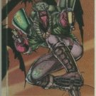 WildC.A.T.s 1995 #FE-5 Foil Etched Chase Card Grifter