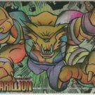 WildC.A.T.s 1995 #FE-8 Foil Etched Chase Card Karillion