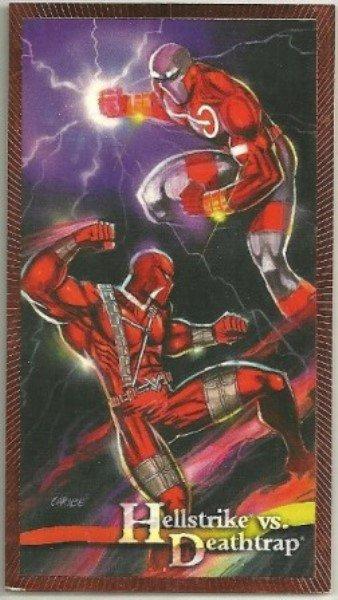 Wildstorm Gallery #B11 Battle Card Hellstrike vs Deathtrap