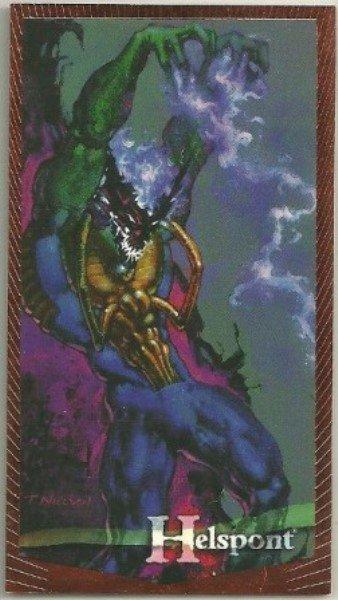 Wildstorm Gallery #RC4 Readers Choice Card Helspont