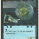 James Bond 007 CCG Buzz-Saw Yo-Yo Game Card Octopussy