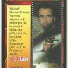 James Bond 007 CCG Francisco Scaramanga Game Card The Man With The Golden Gun