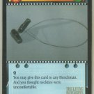 James Bond 007 CCG Garrote Game Card The Living Daylights