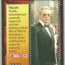 James Bond 007 CCG Max Zorin Game Card A View To A Kill