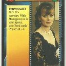 James Bond 007 CCG Miss Moneypenny Game Card Goldeneye