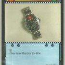 James Bond 007 CCG Omega Laser Watch Game Card Goldeneye