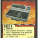 James Bond 007 CCG Retrieve the A.T.A.C. Game Card For Your Eyes Only