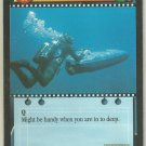 James Bond 007 CCG Underwater Vehicle Game Card Thunderball