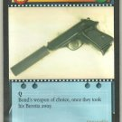 James Bond 007 CCG Walther PPK with Silencer Game Card Goldeneye