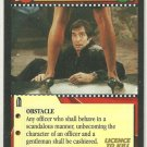 James Bond 007 CCG A Gentleman' s Duties Uncommon Game Card Licence To Kill