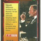 James Bond 007 CCG Aris Kristatos Uncommon Game Card For Your Eyes Only