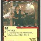 James Bond 007 CCG Bar Uncommon Game Card Licence To Kill